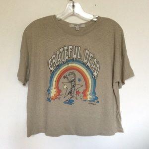 Grateful Dead Womens Boxy Tee Shirt